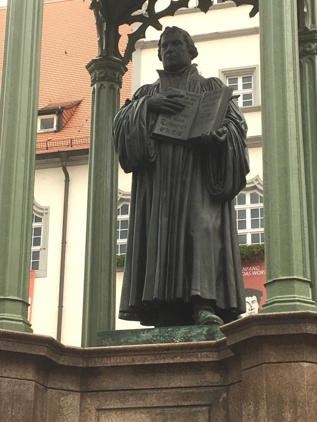 Luther statue_500th anniversary copy